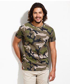 Camiseta Camuflaje Barata